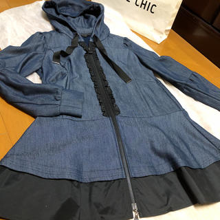 TO BE CHIC - TO BE CHIC   大人可愛いロングパーカ  ㊵   美品