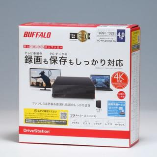 Buffalo - 未開封新品 外付HDD 4TB HD-NRLD4.0U3-BA Buffalo