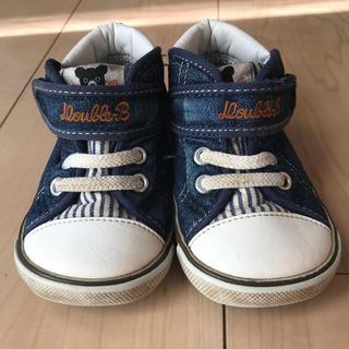 ダブルビー(DOUBLE.B)のダブルビー  キッズ 靴 13.5(スニーカー)