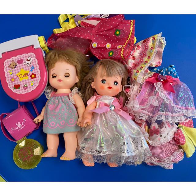 PILOT(パイロット)のメルちゃん ネネちゃんセット キッズ/ベビー/マタニティのおもちゃ(ぬいぐるみ/人形)の商品写真