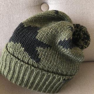 コーチ(COACH)のニット帽(エビタンさん専用)(ニット帽/ビーニー)