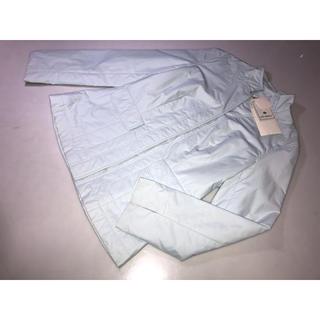エムズグレイシー(M'S GRACY)の834◆新品エムズグレイシー◆ジャンパージャケット上着 水色系 40号 Lサイズ(その他)