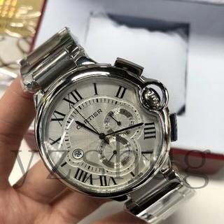 カルティエ(Cartier)のカルティエ バロンブルー クロノグラフ W6920076 腕時計●メンズ(その他)