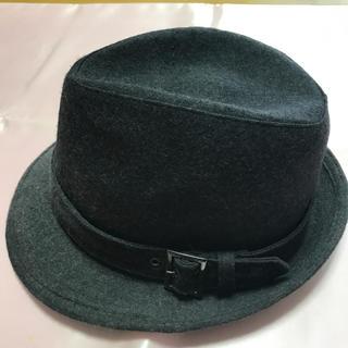 バーバリーブルーレーベル(BURBERRY BLUE LABEL)の♡美品 バーバリーブルーレーベル  ハット帽子(ハット)
