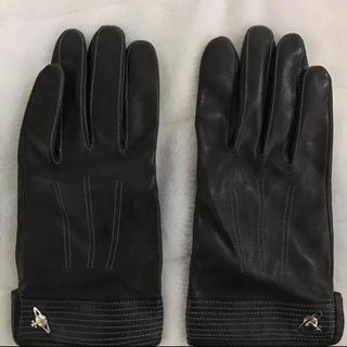 ヴィヴィアンウエストウッド(Vivienne Westwood)のヴィヴィアン 革手袋(手袋)