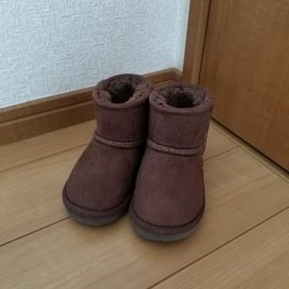 アンパサンド(ampersand)のムートンブーツ  ブラウン  茶色 ブリーズ アンパサンド 13.5(ブーツ)