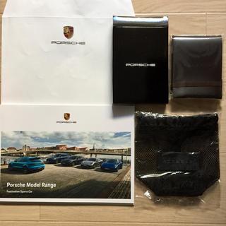 ポルシェ(Porsche)のポルシェ レザーメモパッド ポシェット 他(その他)