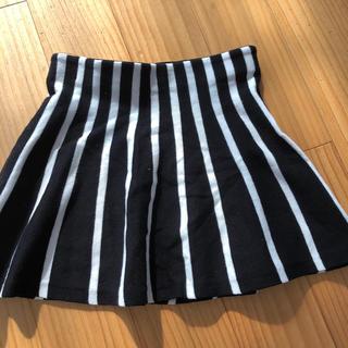 エイチアンドエム(H&M)のH&M☆エイチアンドエム ストライプ  スカート 110/116cm(スカート)