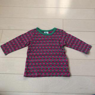 エフオーキッズ(F.O.KIDS)のエフオーキッズ F.O.KIDS ボーダーTシャツ ロンT 80(Tシャツ)