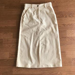 ナチュラルビューティーベーシック(NATURAL BEAUTY BASIC)のナチュラルビューティーベーシック コーデュロイタイトスカート(ひざ丈スカート)