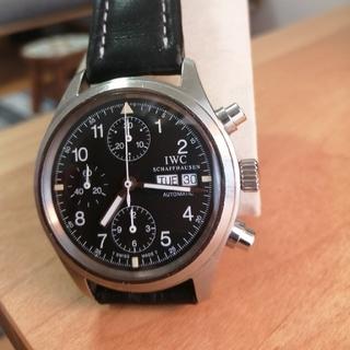 インターナショナルウォッチカンパニー(IWC)のIWC メカニカルフリーガー クロノグラフ 自動巻 カレンダー 日付曜日(腕時計(アナログ))