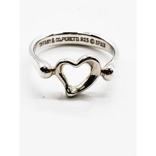 ティファニー(Tiffany & Co.)の471/ティファニー リング 指輪 オープンハート シルバー 銀 アクセサリー(リング(指輪))