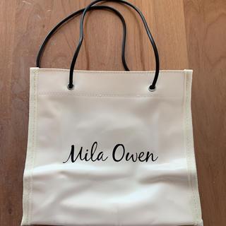ミラオーウェン(Mila Owen)のミラオーウェン 付録 ショッパー風トートバッグ(トートバッグ)