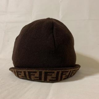 フェンディ(FENDI)のフェンディ   ニット帽子(ニット帽/ビーニー)