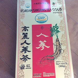 高麗人参茶GOLD  50包(茶)