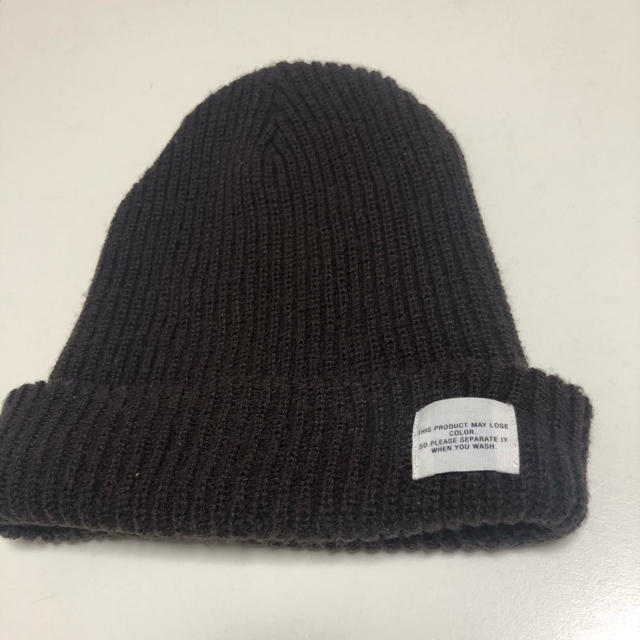 RAGEBLUE(レイジブルー)のレイジーブルー ニット帽 レディースの帽子(ニット帽/ビーニー)の商品写真