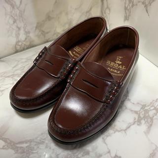 リーガル(REGAL)の美品☆REGAL 2414 レディース ローファー 22.0cm(ローファー/革靴)