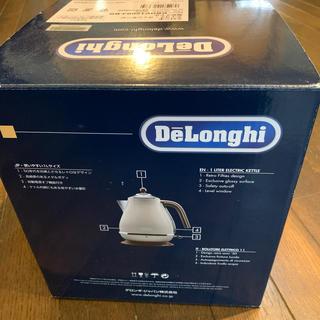 デロンギ(DeLonghi)のデロンギ アイコナ・ヴィンテージ 電気ケトル(ベージュ)(電気ケトル)