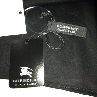 バーバリー(BURBERRY)のBURBERRY 新品 黒ストール(ストール/パシュミナ)