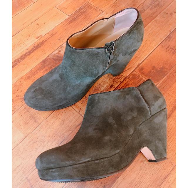 SHIPS(シップス)のSHIPS スエードブーティ レディースの靴/シューズ(ブーティ)の商品写真