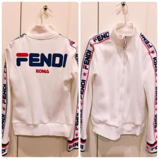 フェンディ(FENDI)のFENDI明日花キララ着用fendi maniaジップスウェット(トレーナー/スウェット)