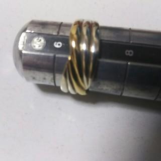 シルバーと10Kのリング(リング(指輪))