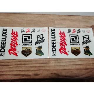 ディーラックス(DEELUXE)の正規品ディーラックス ステッカーシート2枚 DEELUXE スノーボード(ブーツ)