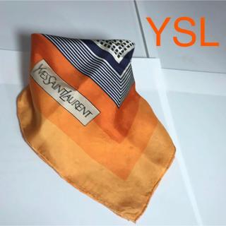 サンローラン(Saint Laurent)のイヴサンローラン   YSL スカーフ(バンダナ/スカーフ)