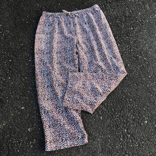 パナマボーイ(PANAMA BOY)のused 古着屋 パジャマパンツ ヒョウ柄 (カジュアルパンツ)