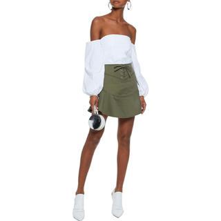 イザベルマラン(Isabel Marant)のイザベルマラン   麻ギャザーミニスカート (ミニスカート)
