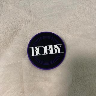 アイコン(iKON)のiKON ラバーバッジ BOBBY バビ(アイドルグッズ)