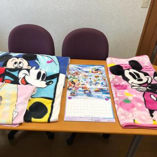 ディズニー(Disney)のディズニーグッズ3点セット(バスタオル、2020年度カレンダー、毛布) (ミュージシャン)