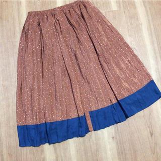 ジエンポリアム(THE EMPORIUM)のジ エンポリアム  ロングプリーツスカート  Mサイズ  未使用品 (ロングスカート)