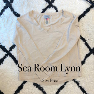 シールームリン(SeaRoomlynn)のSeaRoomlynn USドロップVネックロンT ロングTシャツ カットソー(Tシャツ(長袖/七分))
