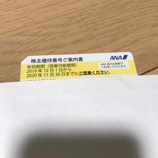 エーエヌエー(ゼンニッポンクウユ)(ANA(全日本空輸))のANA株主優待券⭐︎タイムセール(航空券)