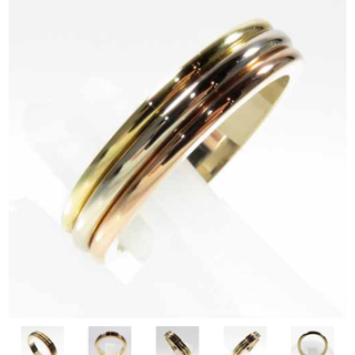 カルティエ(Cartier)のカルティエ リング 本物 50 池袋カルティエ購入 22万くらい、トリニティ (リング(指輪))