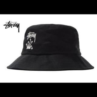 STUSSY - stussy stock crown bucket hat