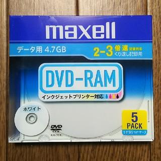 マクセル(maxell)のmaxell  DVD-RAM  5pack×20(PC周辺機器)
