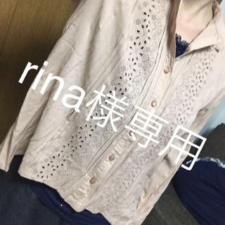 アーバンリサーチ(URBAN RESEARCH)のレースシャツ☆アーバンリサーチ(シャツ/ブラウス(長袖/七分))