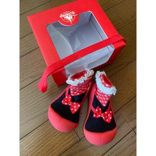ディズニー(Disney)のベビーフィート アティパス ベビーシューズ ミニー L ディズニーストア限定 靴(その他)