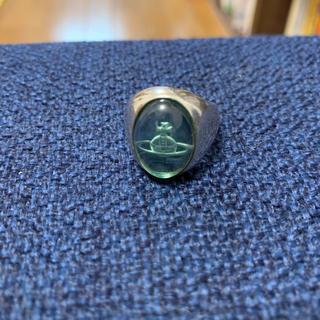 ヴィヴィアンウエストウッド(Vivienne Westwood)の[廃盤]ヴィヴィアンウエストウッド グリーンカボションリング(リング(指輪))