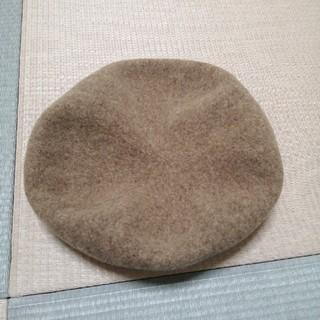 ニコアンド(niko and...)のniko and… ベレー帽 帽子 ベージュ(ハンチング/ベレー帽)