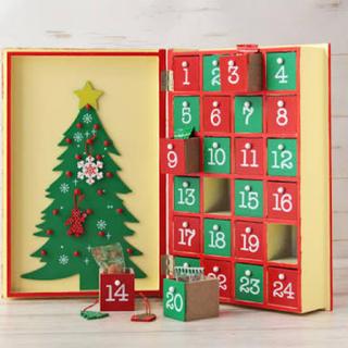 カルディ(KALDI)のカルディ  2019アドベントカレンダー ウッドボックス(カレンダー/スケジュール)