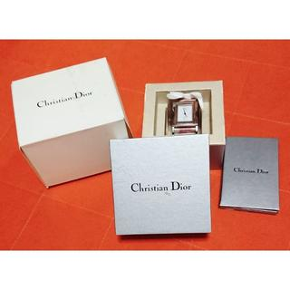 クリスチャンディオール(Christian Dior)の本物クリスチャンディオールトロッターフラワー時計☆箱付属品付き(腕時計)