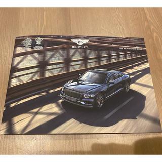 ベントレー 新型フライングスパー カタログ