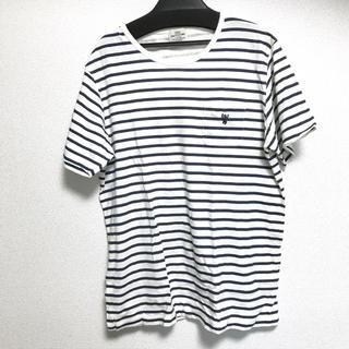コーエン(coen)のcoen ボーダーシャツ(Tシャツ/カットソー(七分/長袖))