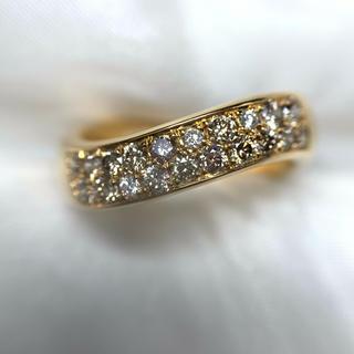 ポーラ ダイヤモンド 二重 指輪