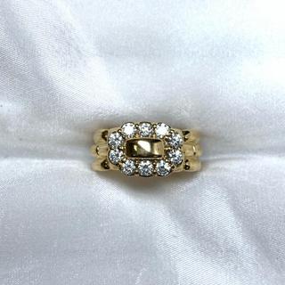 CONCORD ダイヤモンド ゴールド ベルト リング(リング(指輪))