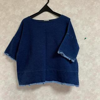 ジーユー(GU)のジーユー デニム トップス(シャツ/ブラウス(半袖/袖なし))