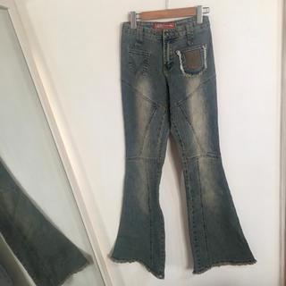 アナップラティーナ(ANAP Latina)のインポートブランドguiter jeans 切り替えがカッコイイストレッチデニム(デニム/ジーンズ)